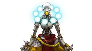 Healers like the omnic monk Zenyatta are always needed!